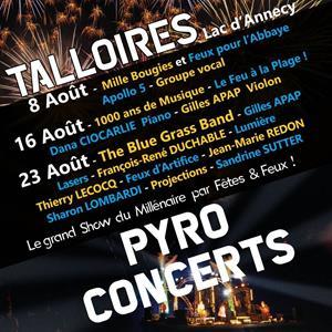 Pyroconcerts de Talloires