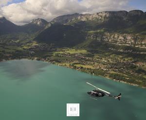 Offre Vol en hélicoptère avec déjeuner et l